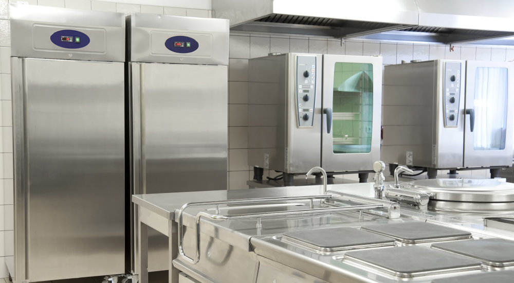 Stainless Steal Commercial Kitchen