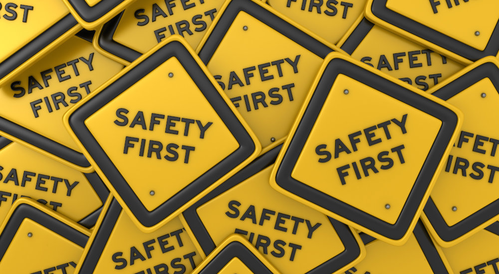 Image of Safety First signs