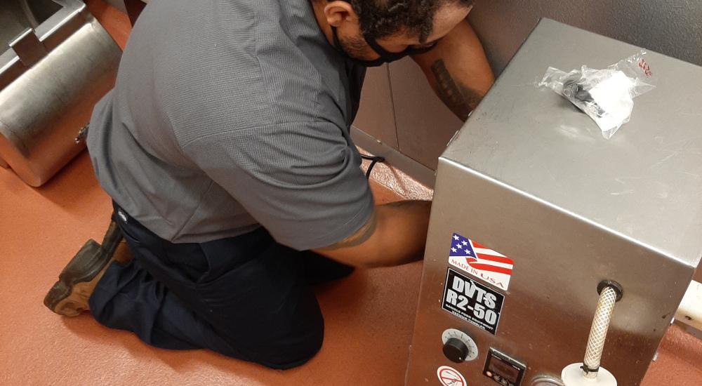 General Parts Group service technician