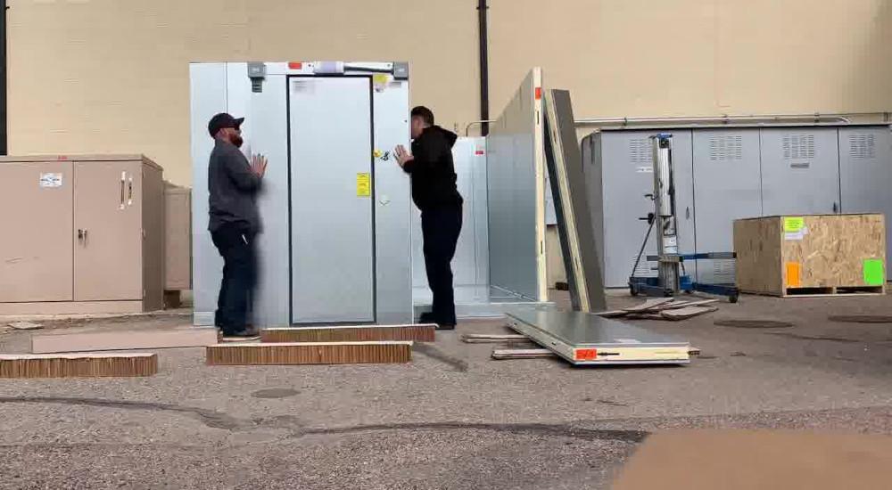 General Parts Group walk-in freezer installation