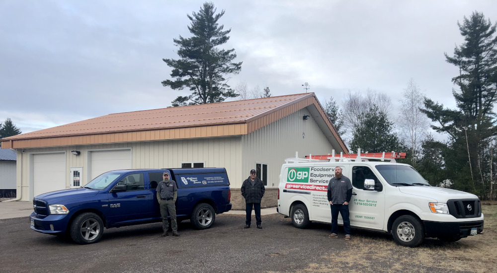 The Duluth location team