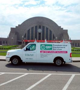 General Parts Group restaurant equipment repair Cincinnati